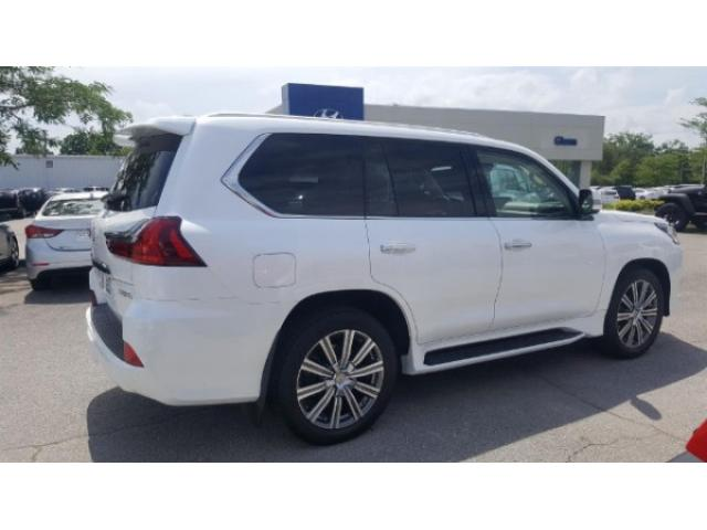 Used Lexus Lx570 Starfire Pearl White Luxury Package 2016