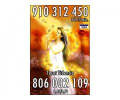 VIDENTE NATURAL TAROT VISA 9€ 30 min. 910 312 450