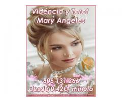 Vidente y Tarotista Mary Angeles 806 131 266 a 0.42€/minuto