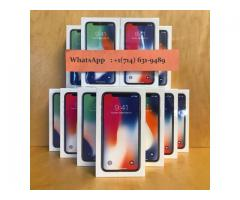 Venta:Iphone X 256GB y iPhone 8 Plus y Samsung Galaxy S9+ y Galaxy Note 8 y iPhone 7 Plus