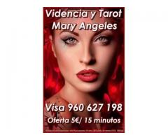 Videncia y Tarot Mary Angeles 806 131 266