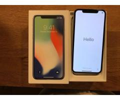 Apple iPhone X 64GB = 400 EUR ,Apple iPhone X 256GB = 450 EUR ,WhatsApp Chat : +447451221931