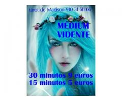 Tarot Madison medium y vidente 15 minutos 5 euros