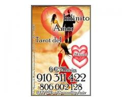 TAROT LINEA 806 002 128 Coste min.0,42/0,79 cm € min. Red fija/móvil videncia natural