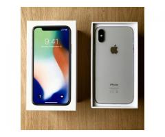 Apple iPhone X 64GB for 400 EUR , iPhone X 256GB for 450 EUR , iPhone 8/8 Plus 64GB = 300EUR