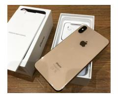 Apple iPhone XS 64GB por 500 EUR  ,iPhone XS Max 64GB por 530 EUR , iPhone X 64GB por 350 EUR