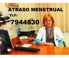 Atraso Menstrual 01-7944530 INDEPENDENCIA - Doctoras Especialistas