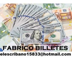 Vendo billetes falsos online