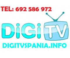 Digi TV Spania - Madrid
