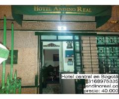 Hotel central en Bogotá, económico y confortable de ambiente familiar